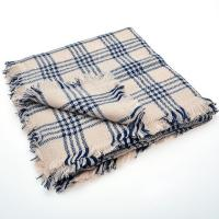 Women Winter Infinity Blanket Oversized Shawl Plaid Check ...