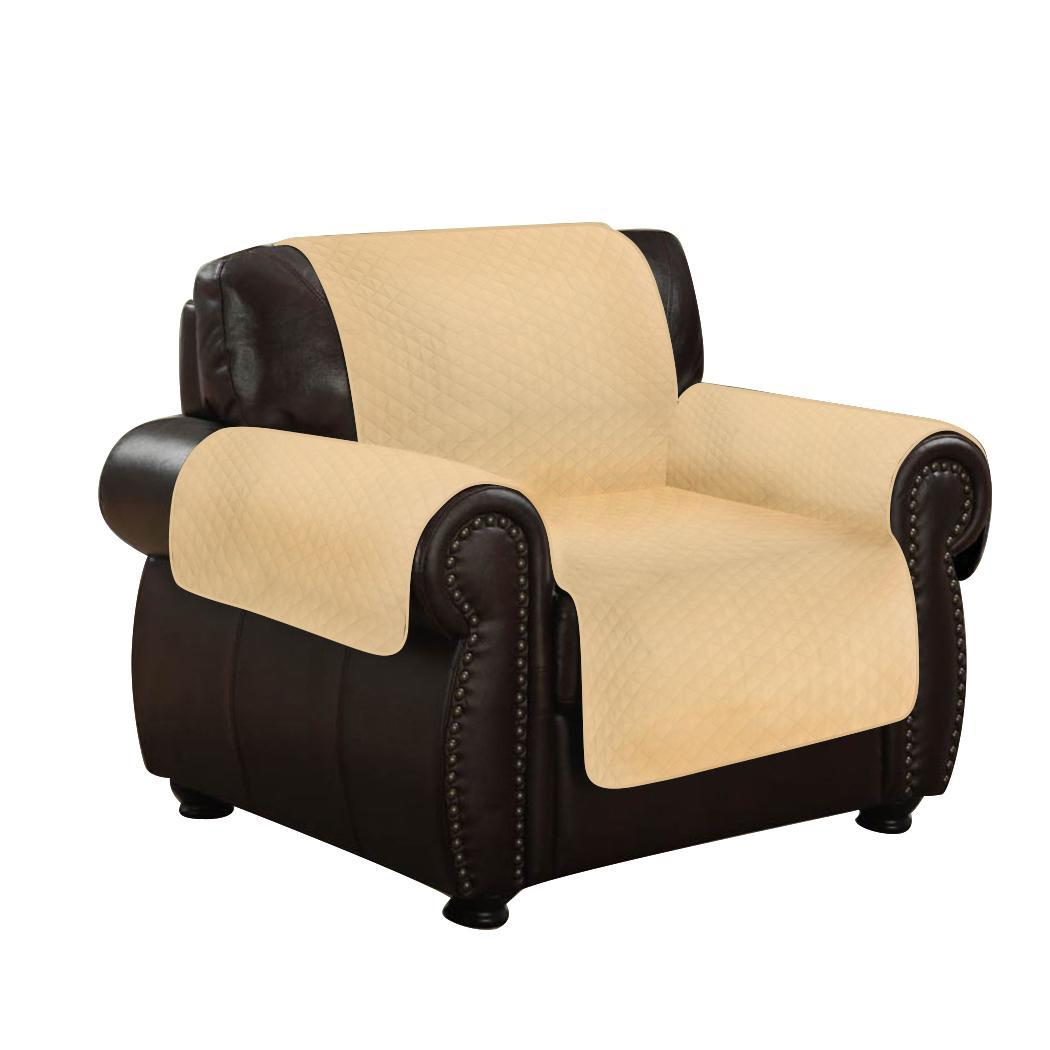 single couch chair cover x back chairs canada microfiber fabric sofa recliner pet kid seat