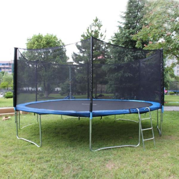 12ft Trampoline Safety Enclosure Net - 6 Poles Replacement