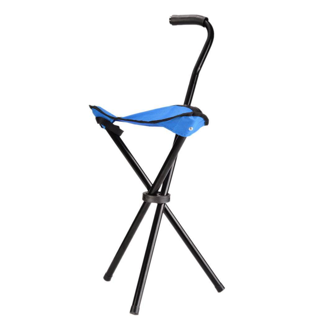 walking stick chair heavy duty wheelchair xbox commercial portable cane travel camp
