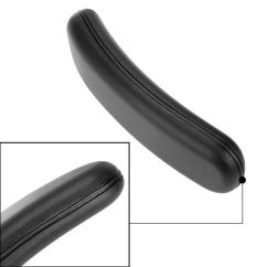 Office Chair Arms Replacement Parts Uk Grey Slipper Canada Arm Pad Armrest 1 Pair Ebay