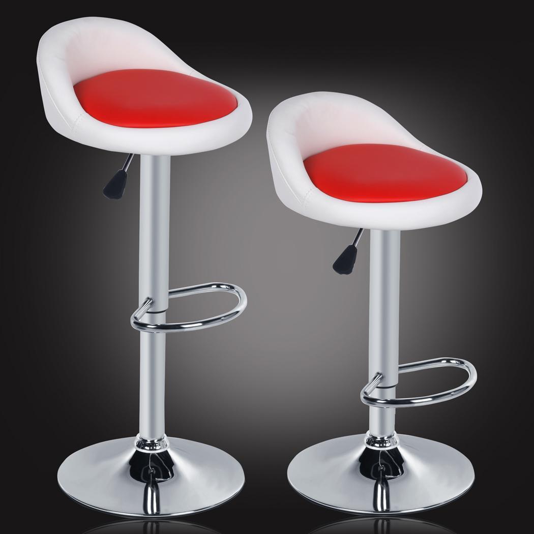 revolving chair bar stool high seat for elderly 2 adjustable height rotating homdox dinning