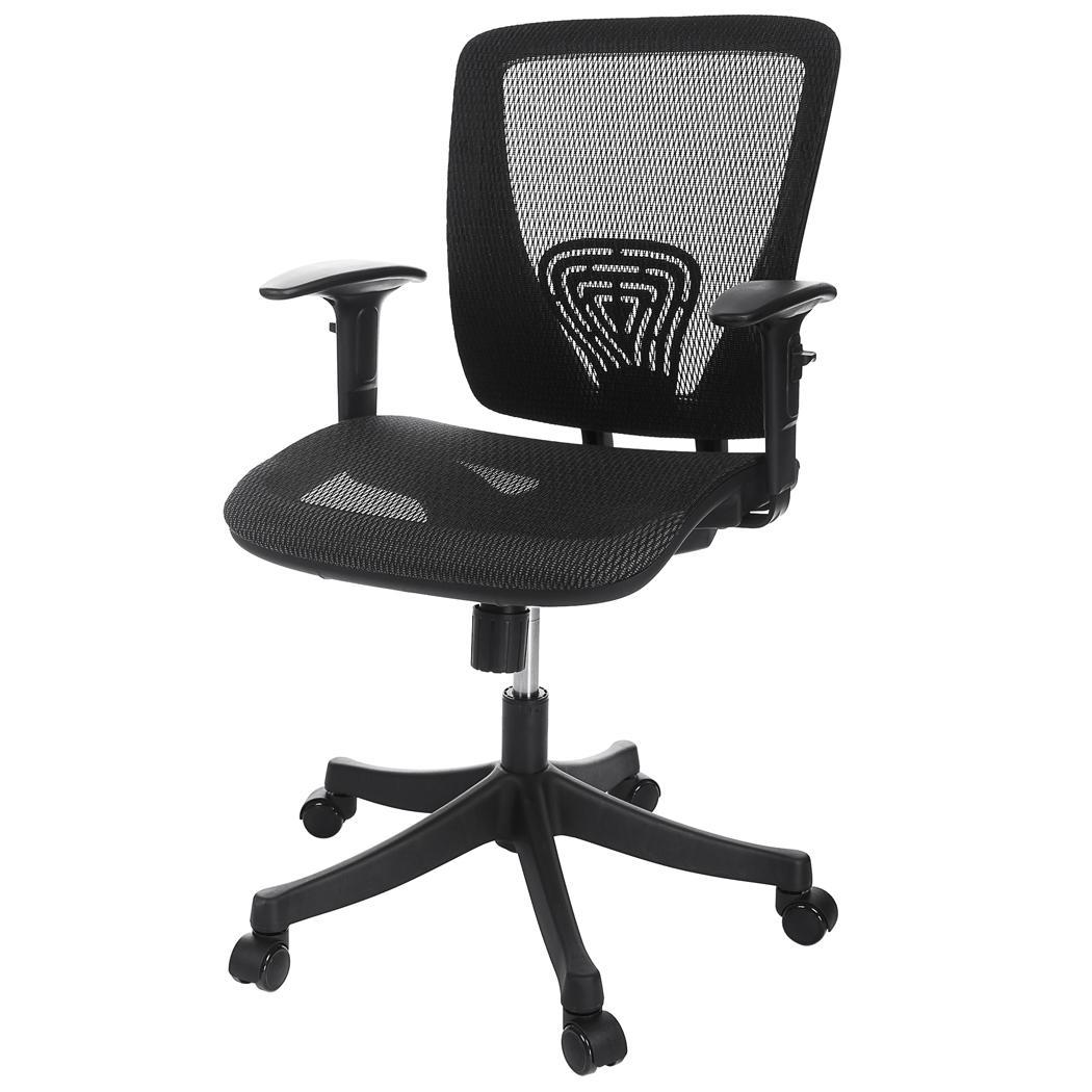 desk chair adjustable cosco flat fold high ancheer modern ergonomic mesh office lumbar support
