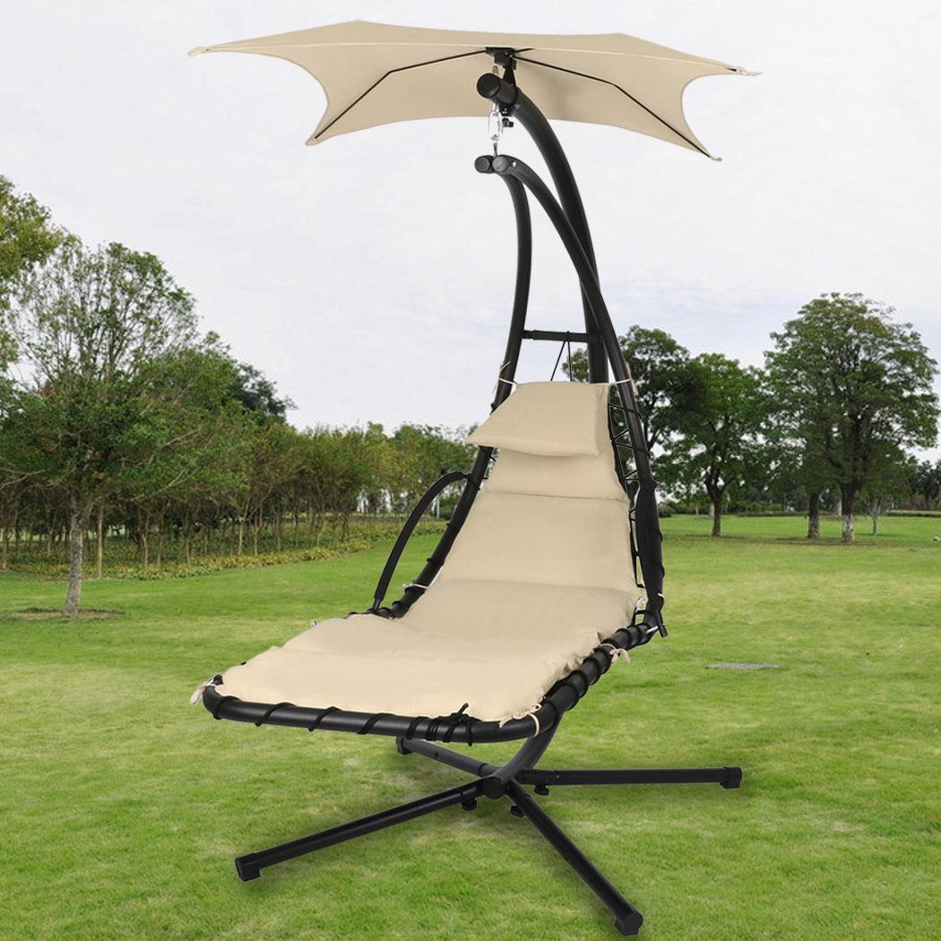 hammock chair with canopy children s beach umbrella australia popular hanging chaise lounger arc stand air porch