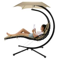 Hammock Chair With Canopy Dorm Room Chairs Popular Hanging Chaise Lounger Arc Stand Air Porch