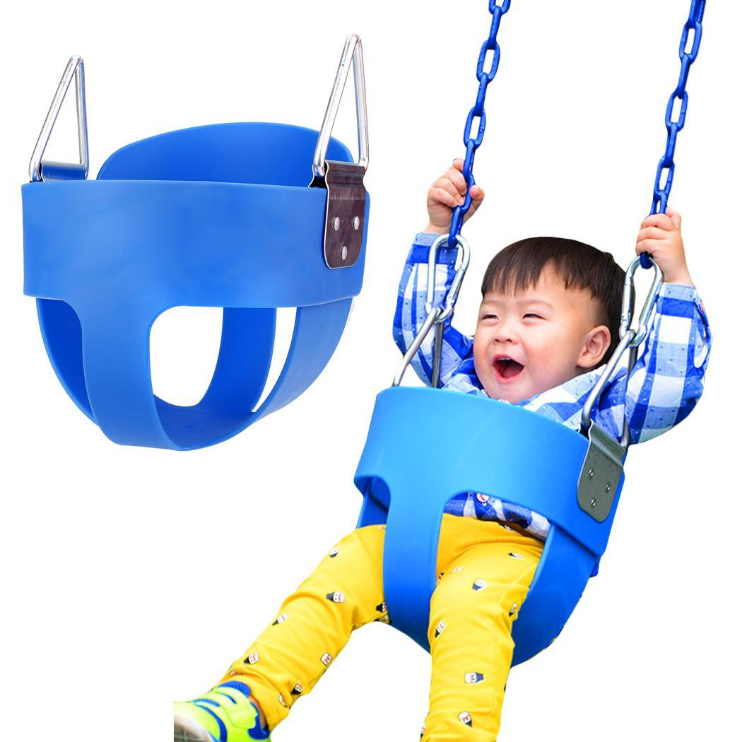 swing chair for 5 year old nautica beach chairs sam s club full bucket seat toddler outdoor playground swingset