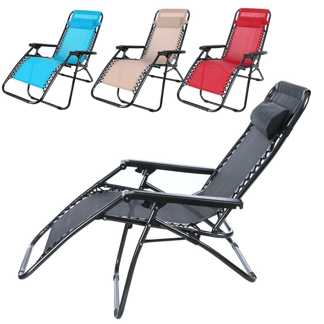 chair cba steel poang heavy duty zero gravity folding lawn patio lounge