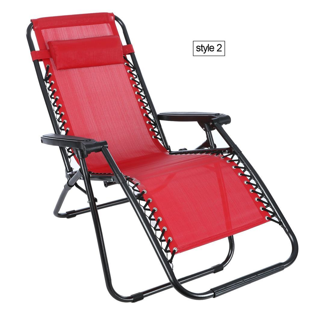 Heavy Duty Lounge Chair Heavy Duty Zero Gravity Folding Lawn Patio Lounge Chair
