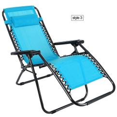 Recliner Lawn Chairs Folding Chair Lounger Heavy Duty Zero Gravity Patio Lounge