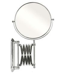 """8"""" Wall Mount Mirror Arm Extension 2 Sided Hair Magnify ..."""