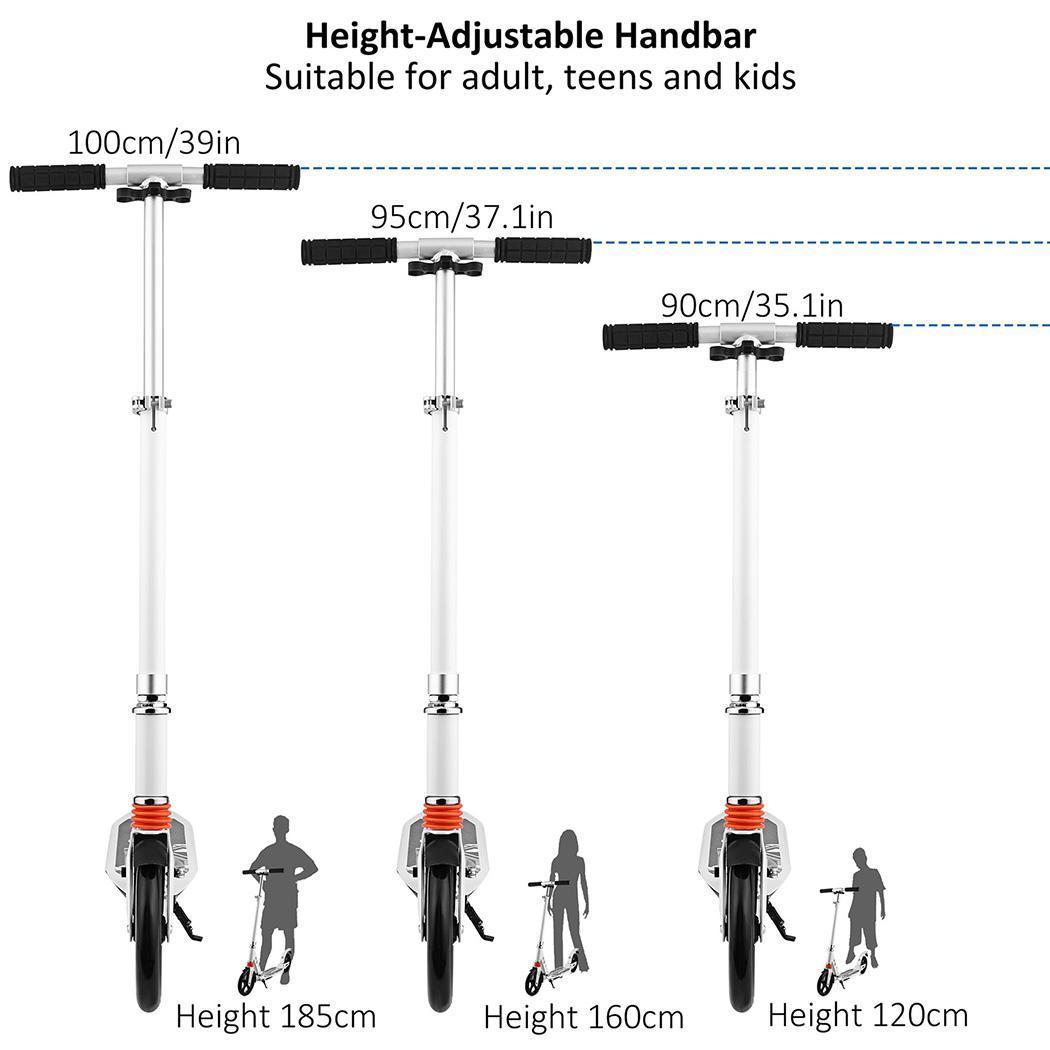 Adult Kick Scooter Trick Stunt Pro Razor Outdoor Ride Kids