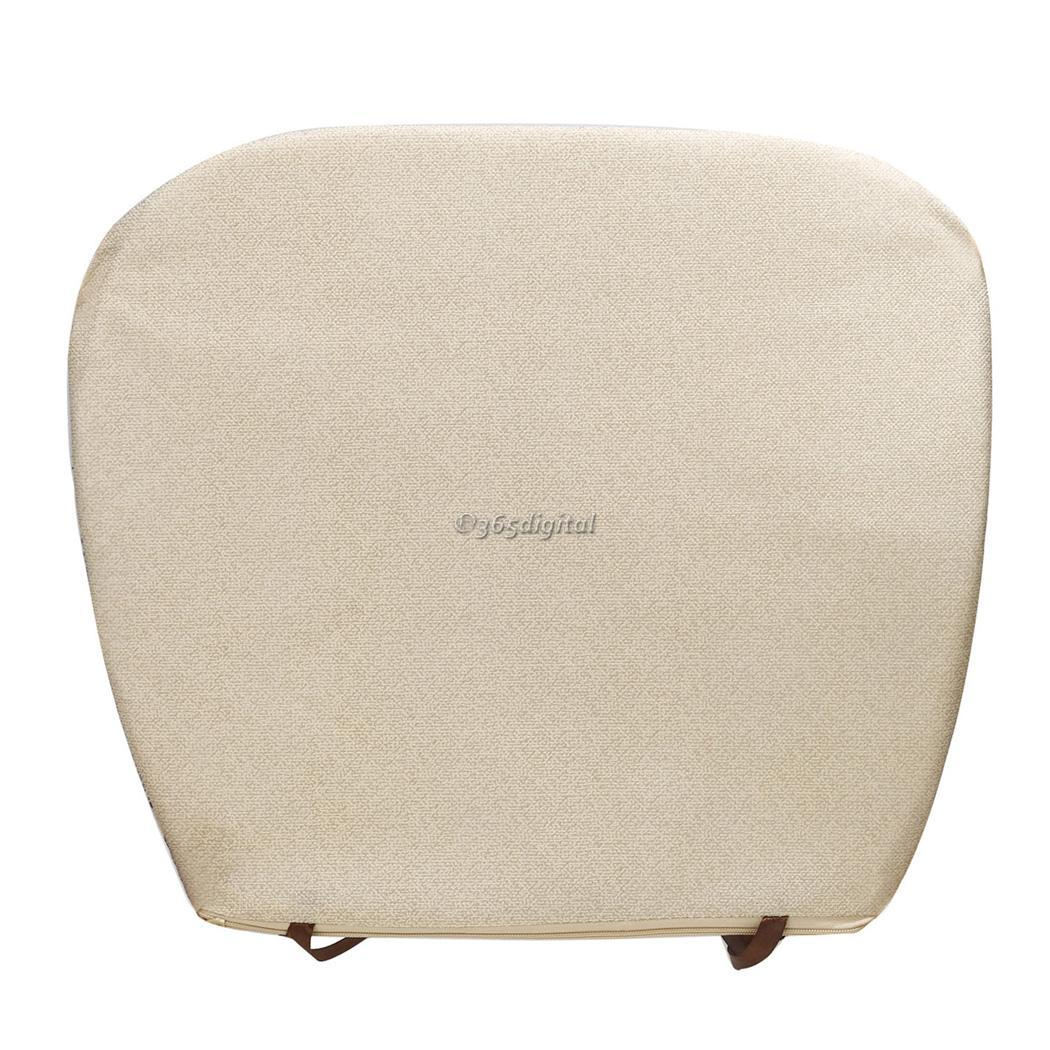 thick chair cushions office steel base new fabric cushion home garden dining kitchen