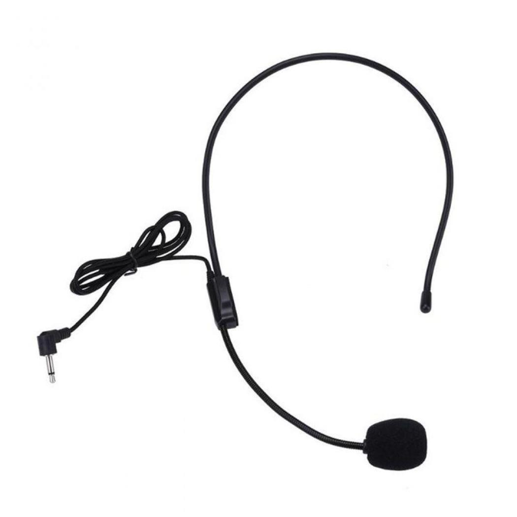 Portable General 3.5mm Jack Wire Loudspeaker Microphone
