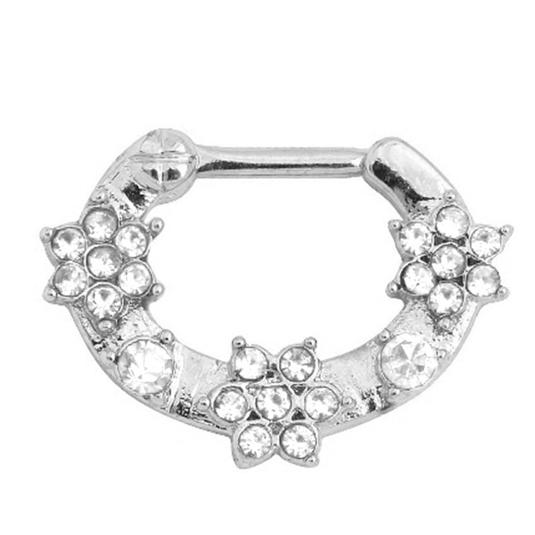 New Women 1Pc Fashion Piercing Clip On Body Jewelry