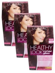 3 pack loreal 4ar cool chestnut