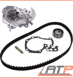 details about timing cam belt kit water pump renault megane mk i 96 03 scenic 96 99 1 6 e [ 2000 x 2000 Pixel ]