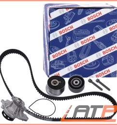 image is loading bosch timing belt kit water pump opel vauxhall  [ 2000 x 2000 Pixel ]