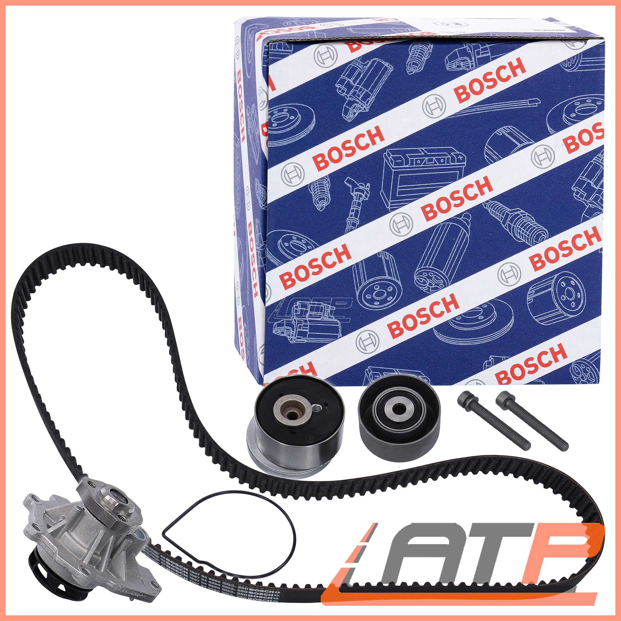 hight resolution of image is loading bosch timing belt kit water pump opel vauxhall