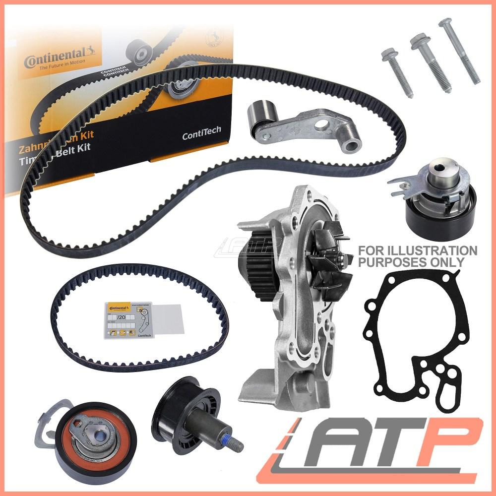medium resolution of 1x contitech timing belt kit water pump opel vauxhall astra mk 5 h 1 7 cdti
