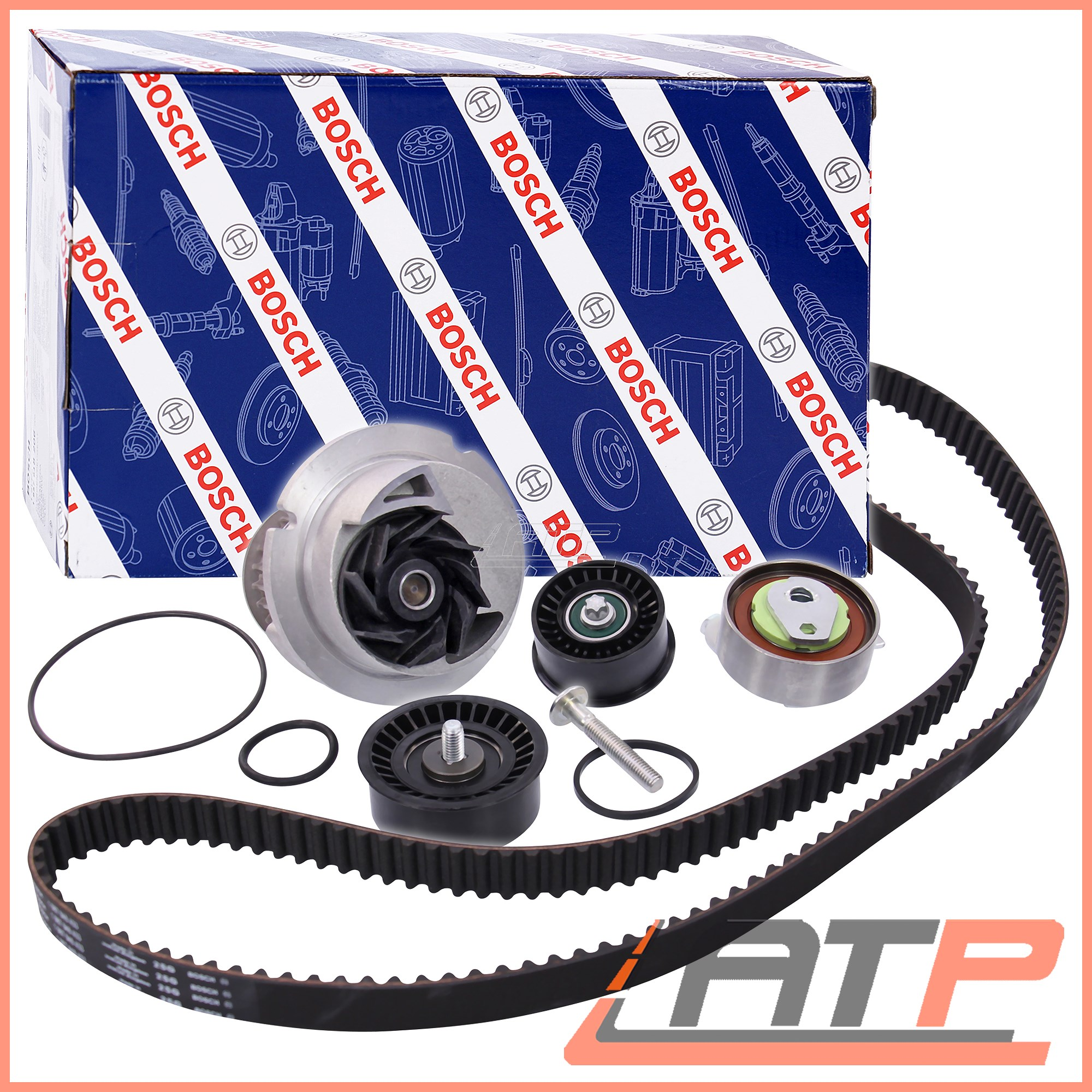 hight resolution of image is loading 1x bosch timing belt kit water pump opel
