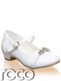 Girls White Shoes, Communion Shoes, Bridesmaid Shoes, Prom ...