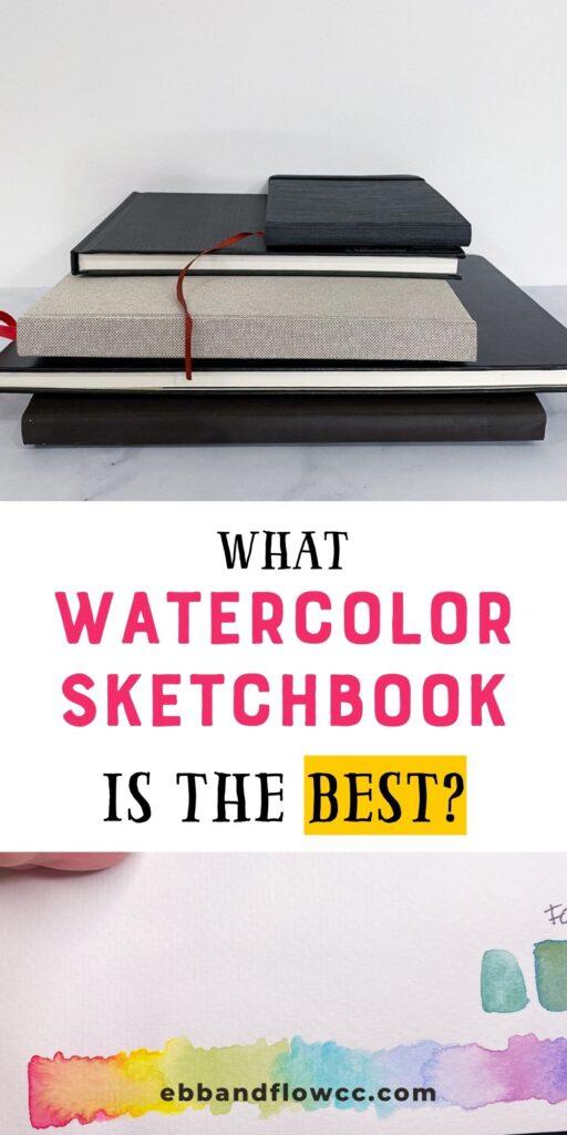 Best Watercolor Sketchbook : watercolor, sketchbook, Watercolor, Sketchbooks, Creative