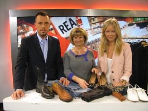 Jag rapporterar återkommande om trender i SVT, här tillsammans med Marianne och Daniel Lindström.