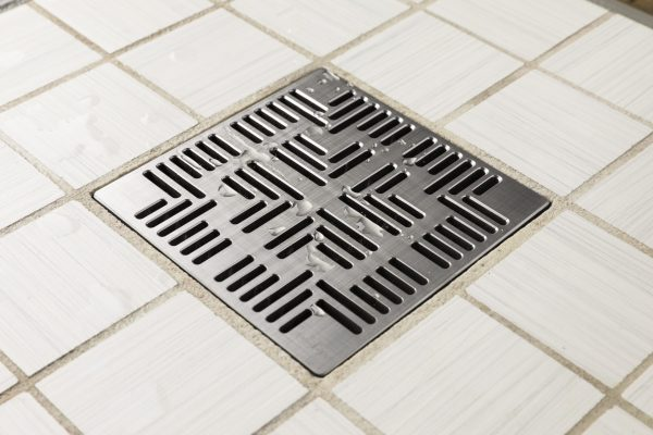 E4804-BS - Ebbe UNIQUE Drain Cover - NAVAJO - Brushed Stainless Steel - Shower Drain - aw