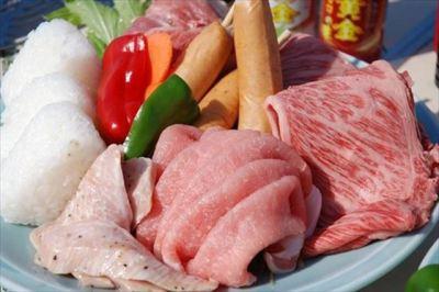 @ふなばし三番瀬公園 バ-ベキュ-レンタル 食材