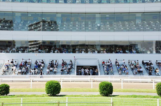 川崎競馬場 観客席