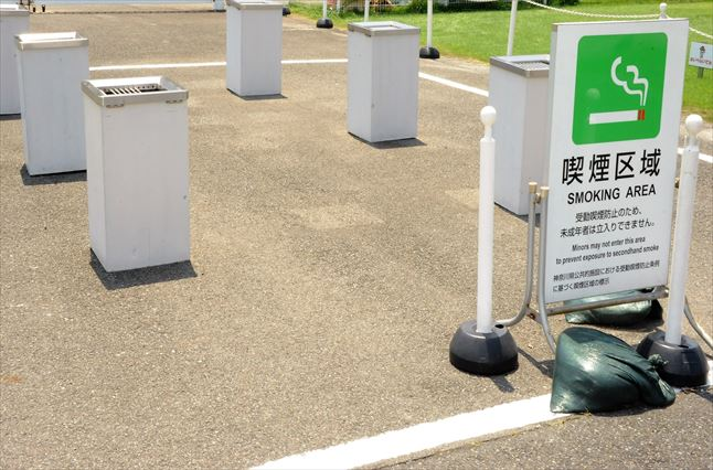 川崎競馬場 喫煙所