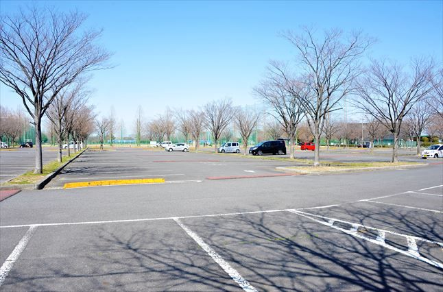 彩湖道満グリーンパーク 駐車場