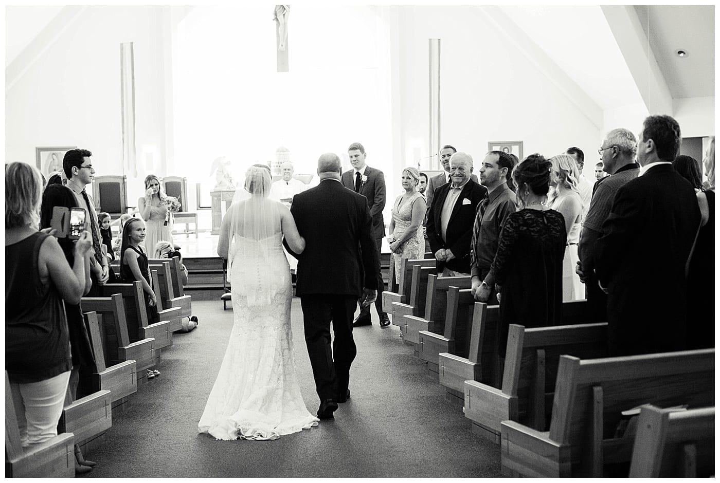 Classic Pink  Gray Wedding Bryan  Ashley Monticello IL