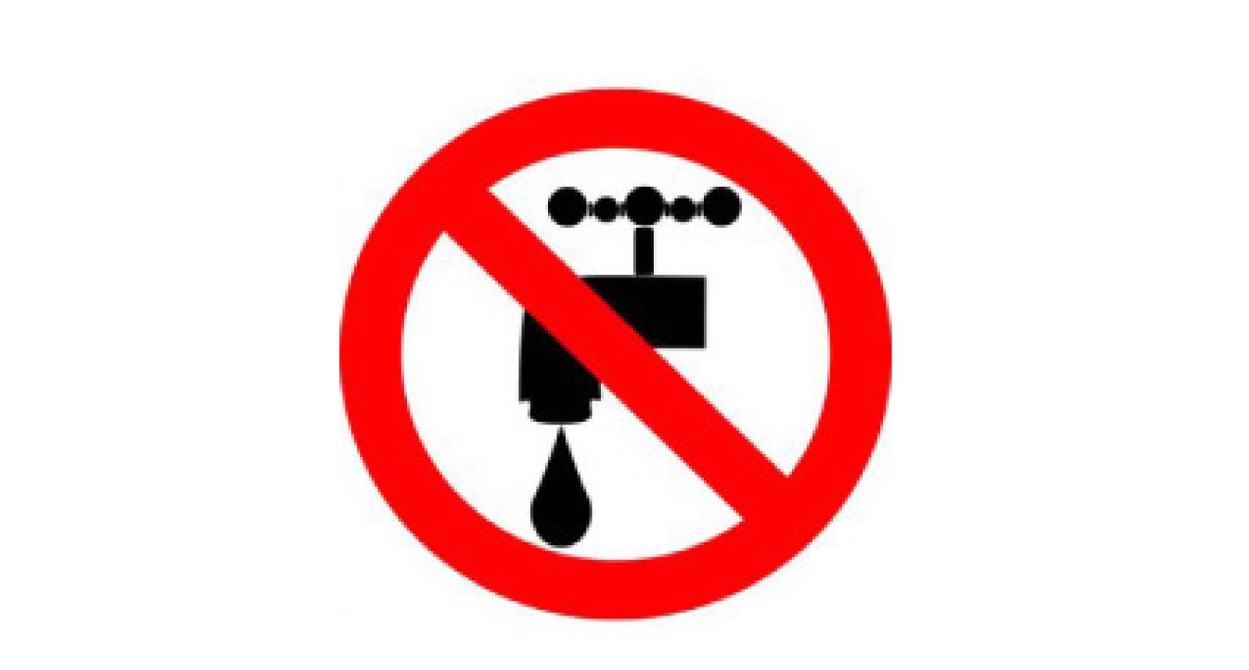 Stop aux coupures d'eau : c'est illégal!
