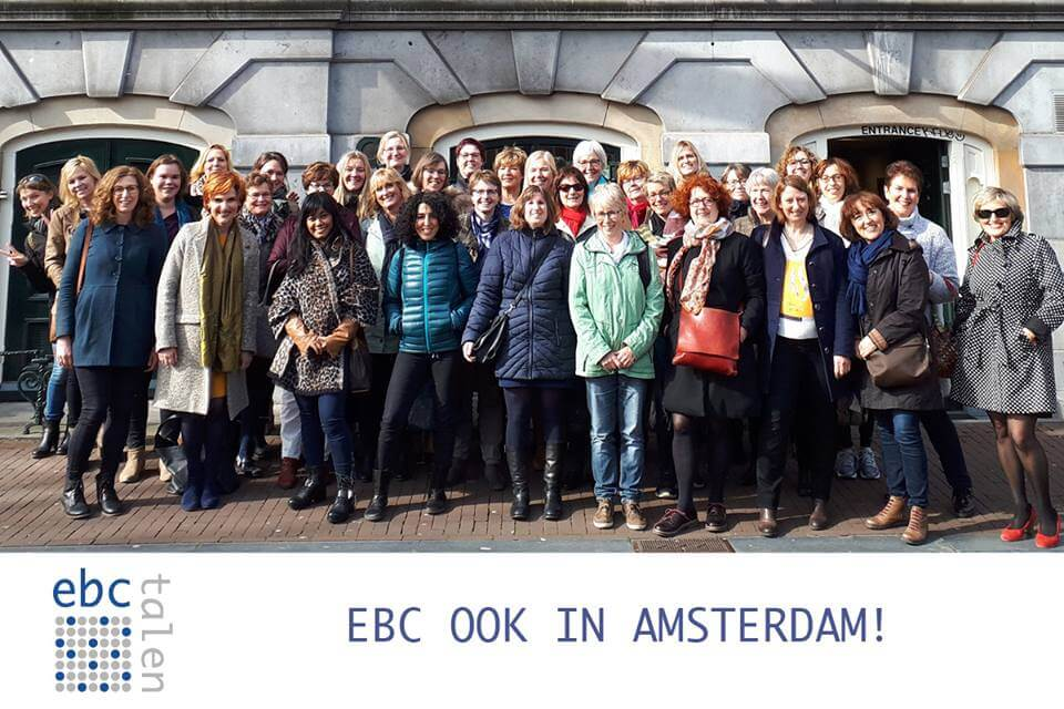 EBC ook in Amsterdam!
