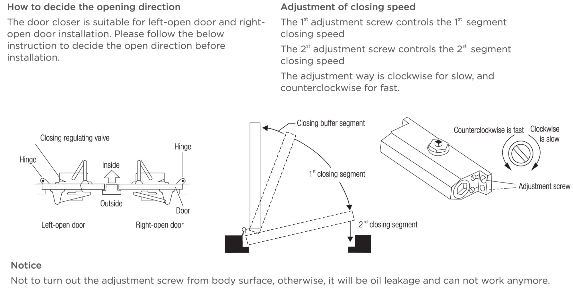 hight resolution of fitting instructions