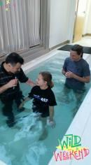 Kensley Baptism