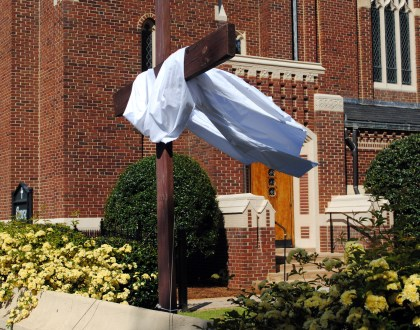 Cross at Ebenezer