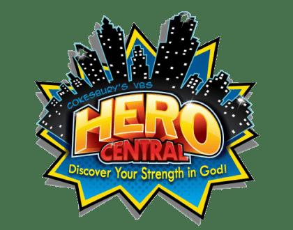 Hero Themed VBS 2017 Logo Ebenezer Lutheran Church Columbia, SC