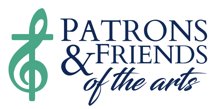 Patrons and Friends of the Arts Logo