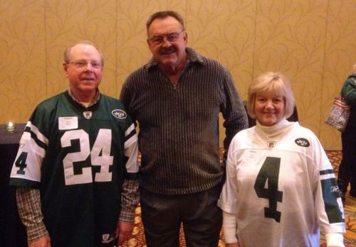 With Butkus at Tailgate