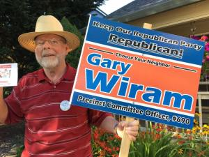 Gary Wiram for Republican PCO - Precinct 690