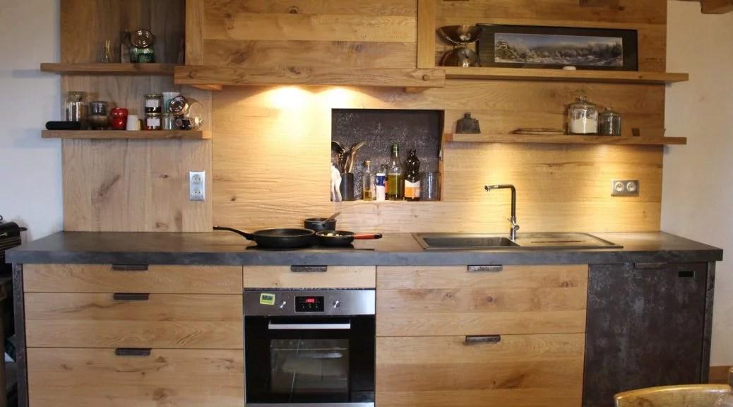porte meuble cuisine bois brut