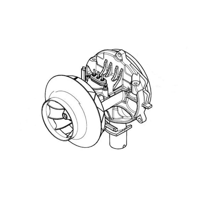 Eberspacher Airtronic M2D4R blower motor 12v