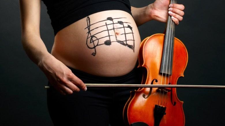 Muzyczne zajęcia dla kobiet w ciąży - akademia muzyki Ebertowski