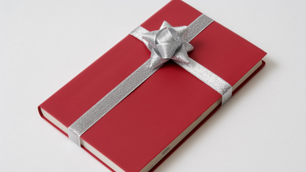 Red Blank Book gift - Christmas Gift Ideas For Her