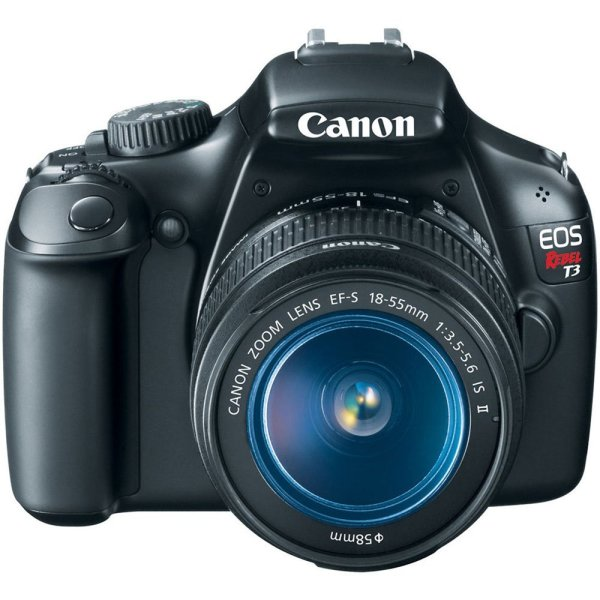 Shopping Canon Eos Rebel T3 12.2 Mp Cmos Digital Slr 18-55mm Camera