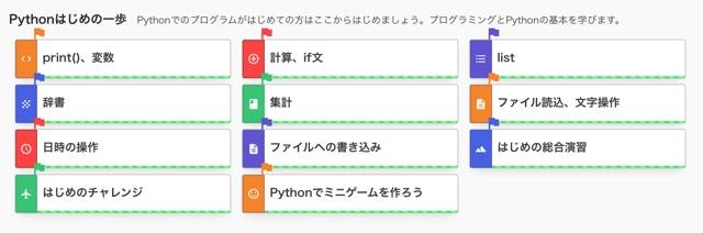Python學習教材『PyQ』のクエストを全部クリアしてみた感想 | エビワークス