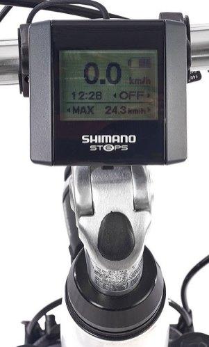 Shimano Steps Display beim TelefunkenC900