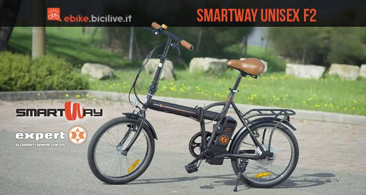 Expert Smartway Unisex F2 bici elettrica a pedalata assistita